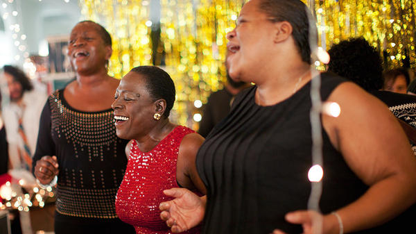 Sharon Jones & The Dap-Kings perform a holiday Tiny Desk Concert in 2015.