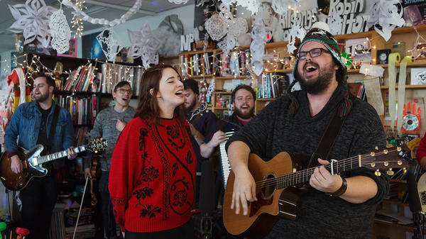 The Oh Hellos perform a Tiny Desk Concert on Dec. 13, 2016.