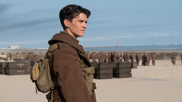 Fionn Whitehead plays World War II soldier Tommy in Christopher Nolan's epic <em>Dunkirk</em>.