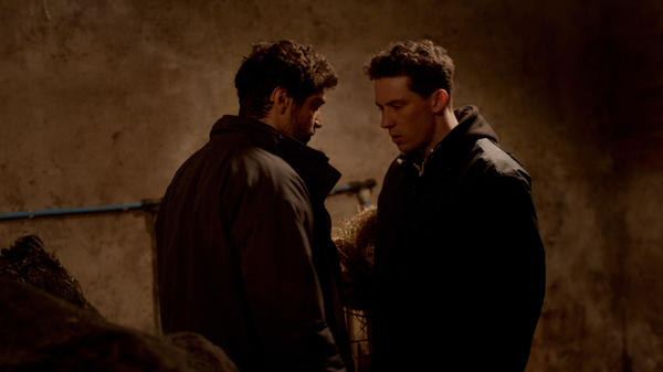 In <em>God's Own Country</em>, two ranch hands (Alec Secareanu and Josh O'Connor) find love on a Yorkshire sheep farm.