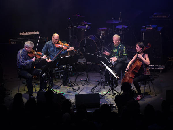 Kronos Quartet performs at NPR Music's 10th anniversary concert in Washington, D.C.