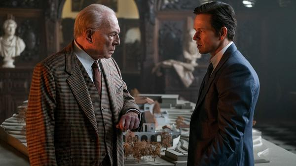Taking Up Spacey: J. Paul Getty (Christopher Plummer) and Fletcher (Mark Wahlberg) in <em>All The Money In The World.</em>