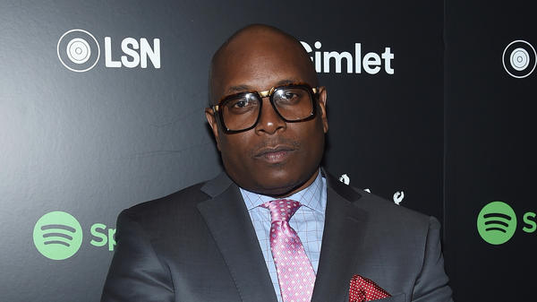 "Reggie ""Combat Jack"" Ossé attends the Spotify Mogul launch party in May 2017. The hip-hop personality has passed away at the age of 53."