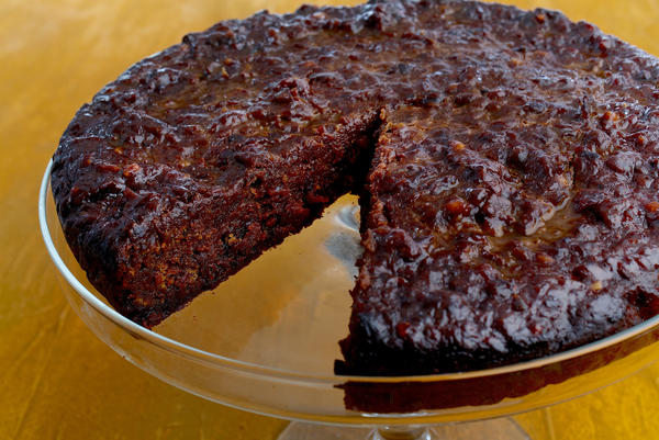"Black cake, a rich, molasses-spiced cake filled with drunken dried fruits, is a part of Christmas festivities throughout the Caribbean. The cake varies from island to island. Above, a black cake <a href=""http://n.pr/2BzZzbj"">recipe from Trinidad</a>."