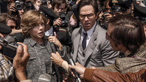 Michelle Williams and Mark Wahlberg both returned for the <em>All the Money in the World </em>re-shoot. Williams plays Gail Harris, whose son has been kidnapped, and Wahlberg plays an ex-CIA operative who works for Getty.