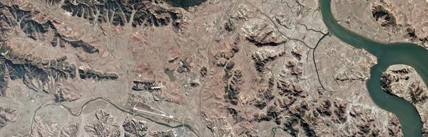 Unsong-ri, Hwangju County, Hwanghaebuk-do, North Korea as seen from Pod-1