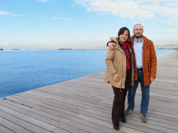 "Tuba and Cevheri Guven, both journalists, fled to Thessaloniki after being targeted by their own government. Turkey has imprisoned 262 journalists, making it the world's largest jailer of journalists. ""If you write something on Twitter, you can go directly to prison,"" Tuba says."