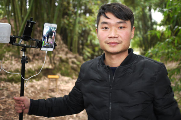 Liu Jin Yin, a 26-year-old farmer, has thousands of viewers a day watching his livestream diaries of life on the farm. He has nearly 200,000 subscribers and earns about $1,500 a month.
