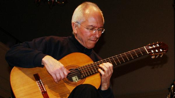 Though officially retired from touring, guitarist John Williams, now 76, continues to record for his own record label.