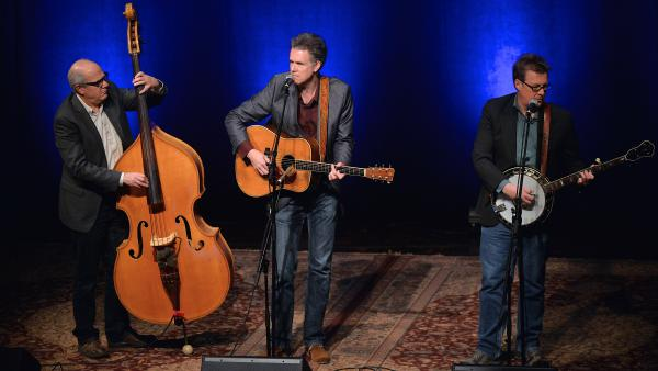 Left to right: Jon Weisberger, Chris Jones and Ned Luberecki perform at the Country Music Hall of Fame in 2015.