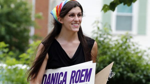 """Danica Roem of Virginia became the <a href=""""https://www.npr.org/2017/11/07/562679573/election-of-transgender-lawmaker-in-virginia-makes-history"""" data-key=""""31"""">first out trans person</a> to be elected to a state legislature."""