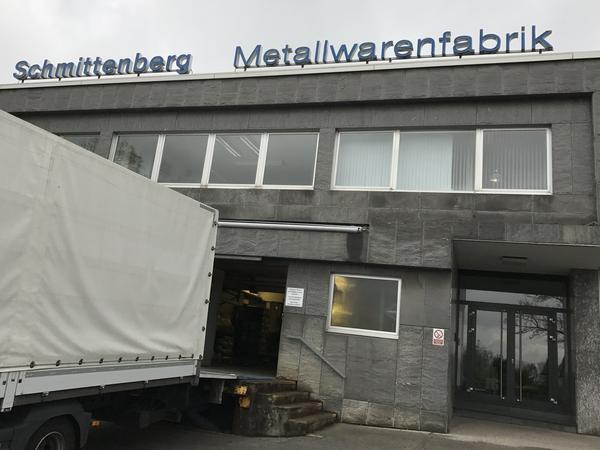 Schmittenberg Metal Works in Wuppertal, Germany.