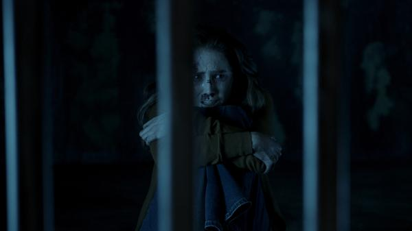 Melissa (Spencer Locke) could reeaaally use that key right about now, in <em>Insidious: The Last Key.</em>