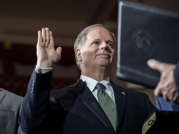 Doug Jones is sworn in as the newest senator from Alabama. The Democrat's surprise win in the conservative state shrinks the GOP majority to 51-49 in the Senate.