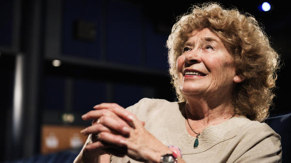 Shirley Collins appeared at the London Film Festival for the premiere of <em>The Ballad Of Shirley Collins</em> documentary.