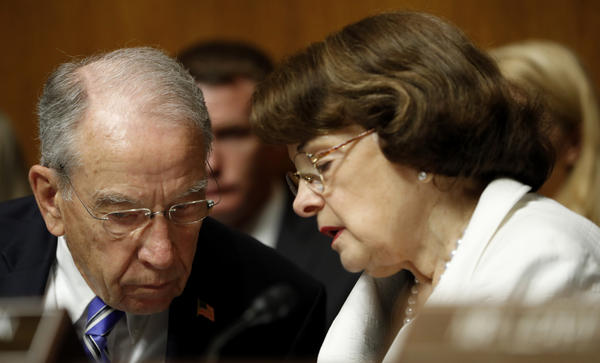 On Tuesday, Sen. Dianne Feinstein, D-Calif., released testimony that Fusion GPS founder Glenn Simpson gave to the Senate Judiciary Committee. She released the material without coordinating with committee Chairman Chuck Grassley, R-Iowa.