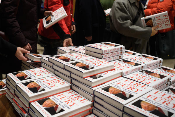 In a rush to buy journalist and author Michael Wolff's book <em>Fire and Fury: Inside the Trump White House, </em>buyers have mistakenly purchased Randall Hansen's book of a similar name, <em>Fire and Fury: The Allied Bombing of Germany, 1942-1945.</em>