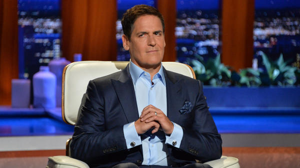 Mark Cuban on the TV show <em>Shark Tank</em>.