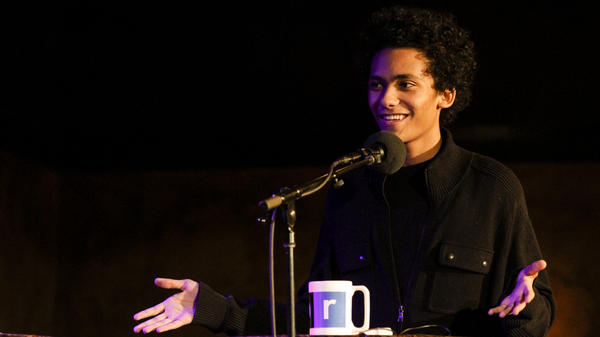 Luka Kain appears on NPR's Ask Me Another at The Bell House in Brooklyn, New York.