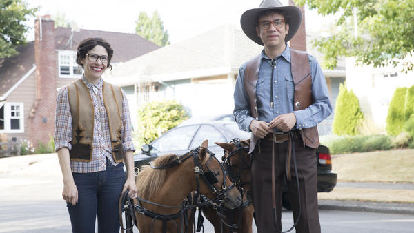 Carrie Brownstein and Fred Armisen star in the eighth and final season of <em>Portlandia,</em> which premieres Thursday.
