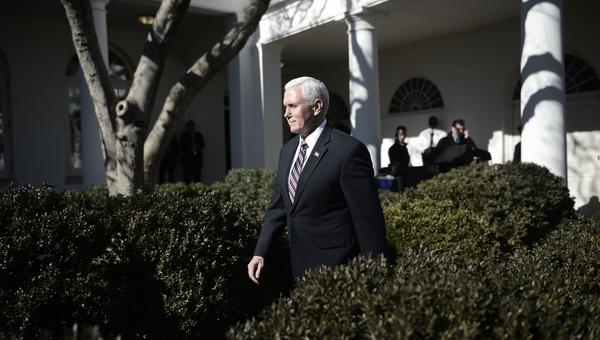 Vice President Pence is scheduled to leave for the Middle East Friday evening. Cairo is his first stop.