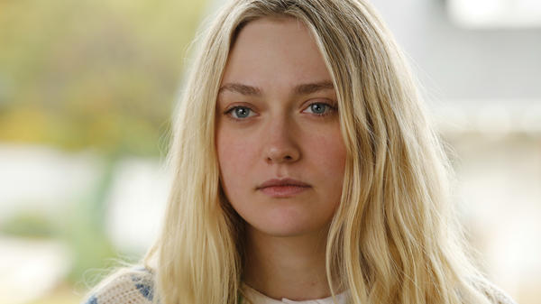 Wendy (Dakota Fanning) explores strange new worlds when she sets out on her own in <em>Please Stand By</em>.