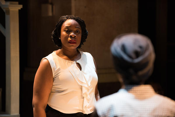 In the play <em>The Homecoming Queen</em>, Kelechi (played by Mfoniso Udofia) is a best-selling novelist who returns to her native village in Nigeria for the first time since leaving for the U.S. 15 years earlier.