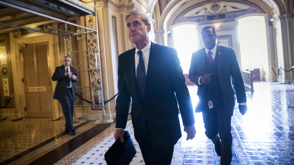 Special counsel Robert Mueller at the Capitol in June. <em>The New York Times</em> reports President Trump intended to fire him that month but was dissuaded by White House Counsel Don McGahn.