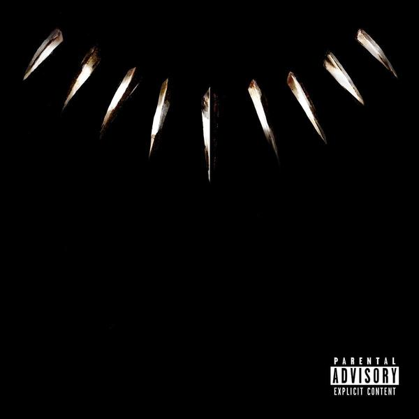 Kendrick Lamar tweeted the artwork to <em>Black Panther</em>'s soundtrack on Wednesday.