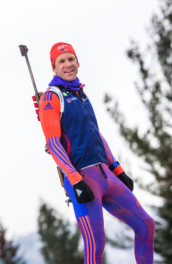 """I've never seen our team in such high spirits,"" says biathlete <a href=""https://www.teamusa.org/us-biathlon/athletes/lowell-bailey"" data-key=""471"">Lowell Bailey</a>, 36, who will be competing in his fourth Olympics."