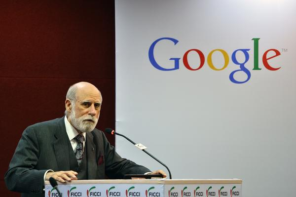 "Vint Cerf, now a Google vice president, is often called the ""father of the Internet."" He admits that when he and his team created the Internet, he never imagined how it would turn out."