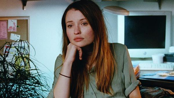 Naomi (Emily Browning) plays an assistant living in Brooklyn in <em>Golden Exits, </em>a film exploring the disappointments and desires of both the young and the old.