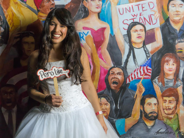 Quince Night organizer Alexis Chavez