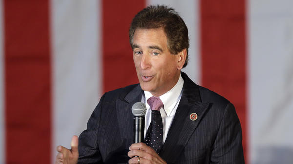 Rep. Jim Renacci, R-Ohio, pictured here in 2014, recently switched from the governor's race to the Senate contest.