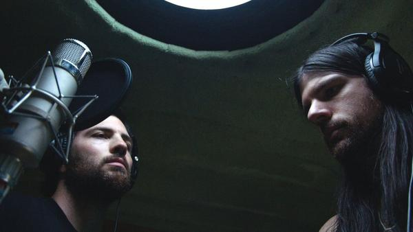 "The Avett Brothers in an image from the documentary ""May It Last."" (Courtesy of Oscilloscope Laboratories)"