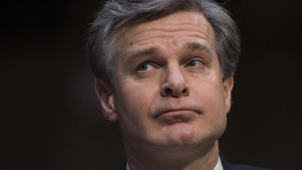 FBI Director Christopher Wray addressed the background investigation of former White House staff secretary Rob Porter during a Senate intelligence committee hearing on Tuesday.