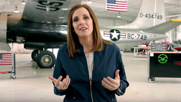 """In Republican Rep. Martha McSally's ad announcing her run for Senate in Arizona, she urged other Republicans in Washington to """"grow a pair of ovaries."""""""