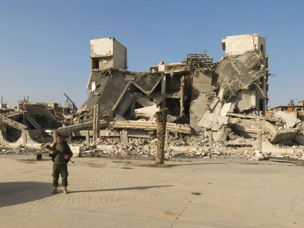Some of the devastation caused by the fight to remove ISIS from Raqqa, Syria.