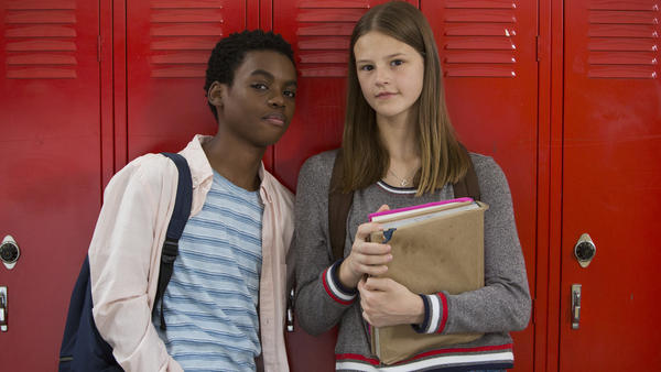 Jahi Winston and Peyton Kennedy star in the Netflix series <em>Everything Sucks!</em>