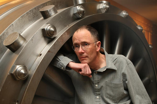 """Sci-fi writer William Gibson says the best way to imagine new technologies and how they could affect society is not through current expertise but by talking to """"either artists or criminals."""""""