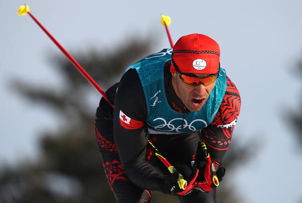 Pita Taufatofua of Tonga — who grabbed attention by marching shirtless as his country's flag-bearer in the Olympics opening ceremony — comes in 114th on Friday in the men's cross-country skiing 15-kilometer race. Taufatofua, who had been skiing on snow for only three months, finished ahead of two other skiers.