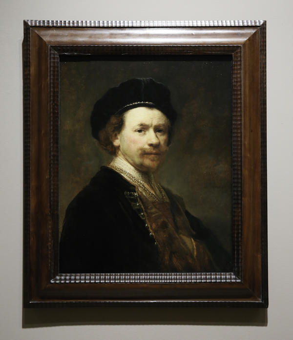 <em>Self-Portrait</em> was painted in the late 1630s, when the Dutch artist was around 32.