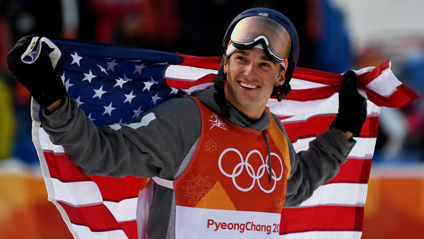 Nick Goepper won a silver medal for the United States in the freestyle skiing men's ski slopestyle.