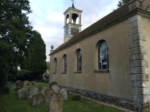 St. Katherine's Church was built in the 1760s outside of Oxford, England, and is among more than 350 vacant churches managed by the Churches Conservation Trust.