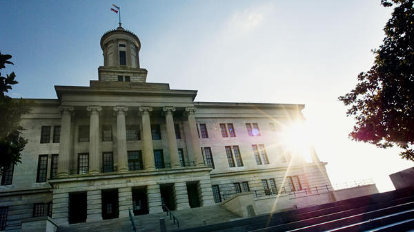 The Tennessee State Capitol building in Nashville. New legislation recently introduced would extend sexual harassment protections to contract workers — a designation that applies to many artists.