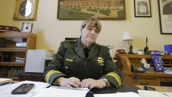 San Francisco Sheriff Vicki Hennessy in 2016.