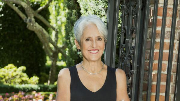 Joan Baez's new album, <em>Whistle Down the Wind,</em> is available March 2.