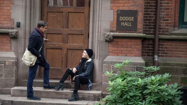 A college professor (Stanley Tucci) develops an erotic fascination with a talented writing student (Addison Timlin) in <em>Submission. </em>