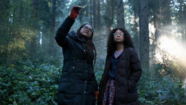 With <em>A Wrinkle In Time</em>, Ava DuVernay — seen here instructing Storm Reid on set — became the first African-American woman to direct a movie with a budget exceeding $100 million.