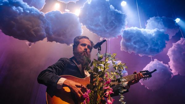 Iron & Wine's Sam Beam.